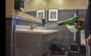 Disinfect Restrooms
