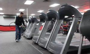 Professional Electro-Spray Gym