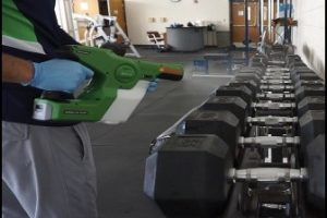 Fitness Center Gym Disinfection