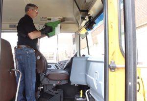 GSP Transportation Non-Toxic Disinfection E-Spray
