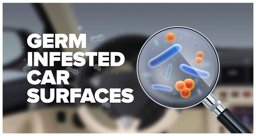 Germ Shield Pro Kill germs odors mold in cars