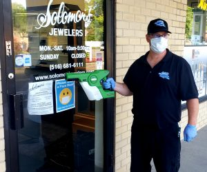 Jewlery Store Disinfection