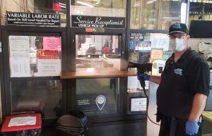 Sarant Cadillac Dealership Disinfecting service
