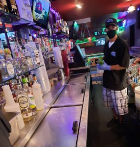 Bar Sanitizing Disinfecting