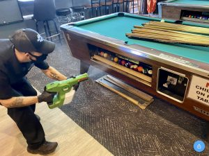 Pool Table Entertainment Disinfection Micro Clean